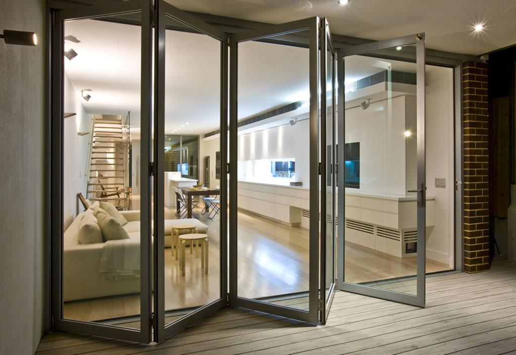 Aluminium-Bifold-doors in hinckley