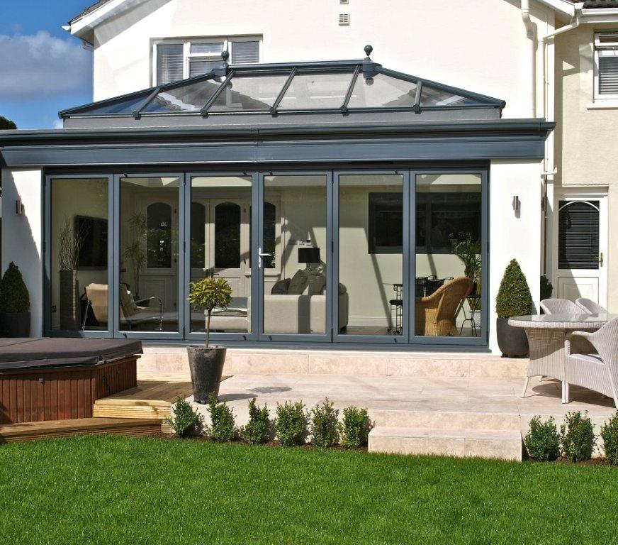 Grey ali orangery M amp A Home Improvements