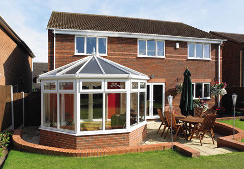 victorian shaped conservatory