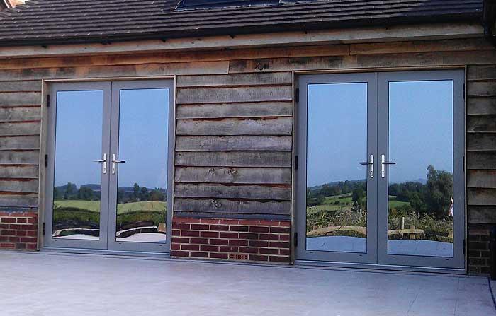 Aluminium French Doors Hinckley Nuneaton